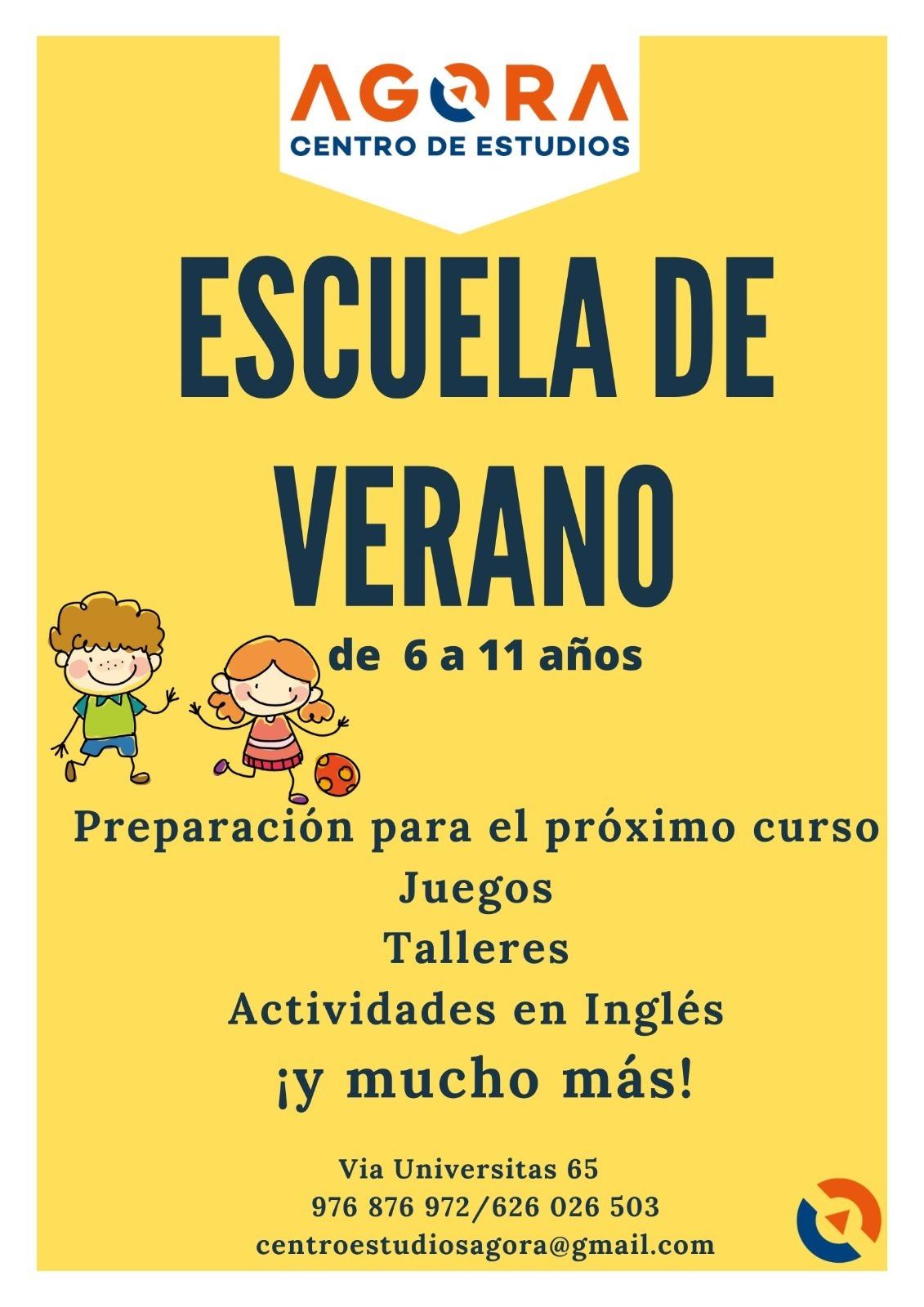 Escuela de Verano (de 6 a 11 años)